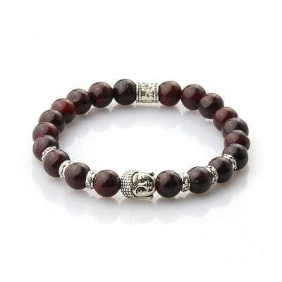 Bracelet Bouddhiste Jaspe Breschia - 1