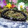 Bracelet 6 mm Agathe Noire - 2