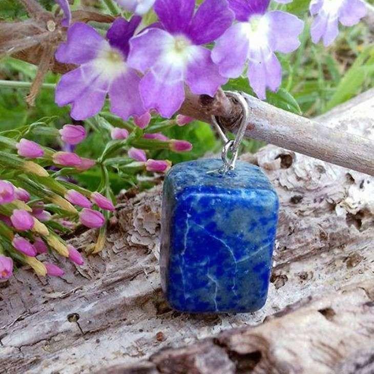 Pendentif Rochers Lapis-Lazuli - 2