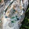 Collier Arbre de Vie En Agate Mousse - 1
