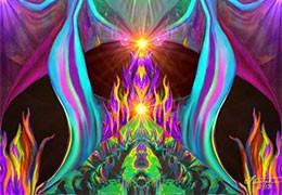 La dynamique énergétique des flammes jumelles